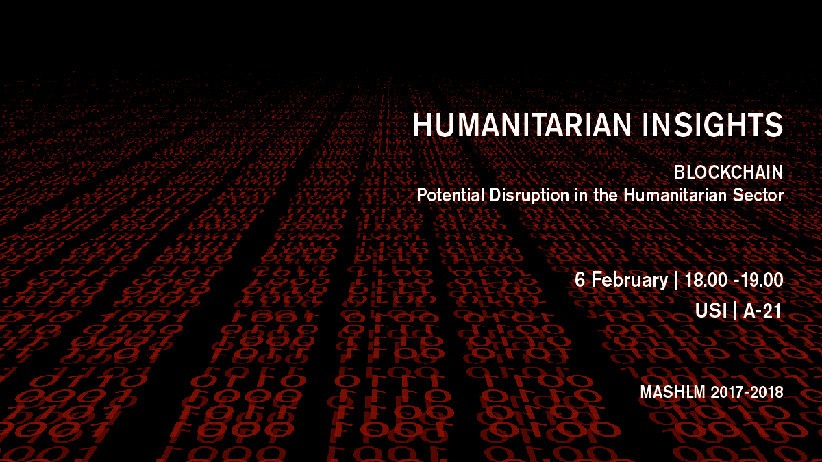 Humanitarian Operations Logistics Management