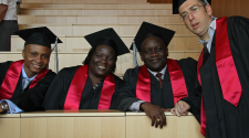 MASHLM 01 graduates -  Master of Advanced Studies in Humanitarian Logistics and Management