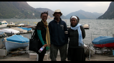 MASHLM 02 students at lake -  Master of Advanced Studies in Humanitarian Logistics and Management