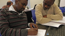 students at the Master of Advanced Studies in Humanitarian Logistics and Management