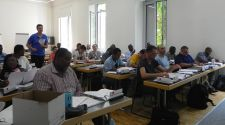 Humanitarian Logistics students studying Managerial Accounting with Prof Serrano