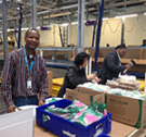 MASHLM alumni Patrick Efinda works for Unicef