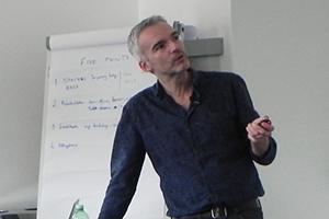 David Sanderson teaches Disaster Risk Reduction at MASHLM