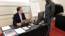 Prof Olivier de Weck & MASHLm student
