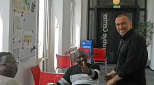 MASHLM 05 students + Paulo -  Master of Advanced Studies in Humanitarian Logistics and Management