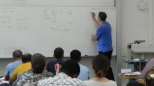 Humanitarian Logistics students studying Managerial Accounting with Prof. Serrano